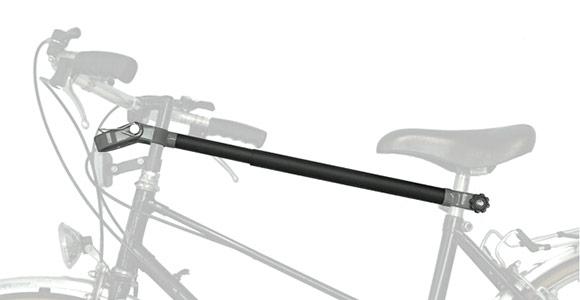 Achterklep Frame adapter voor damesfiets   Fietsendrager4u